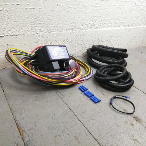 small resolution of 1974 1985 pontiac ultra pro wire harness system 12 fuse restore 1985 pontiac fuse box
