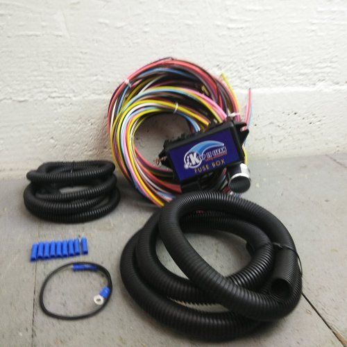 small resolution of details about wire harness fuse block upgrade kit for bmw hot rod rat rod street rod review