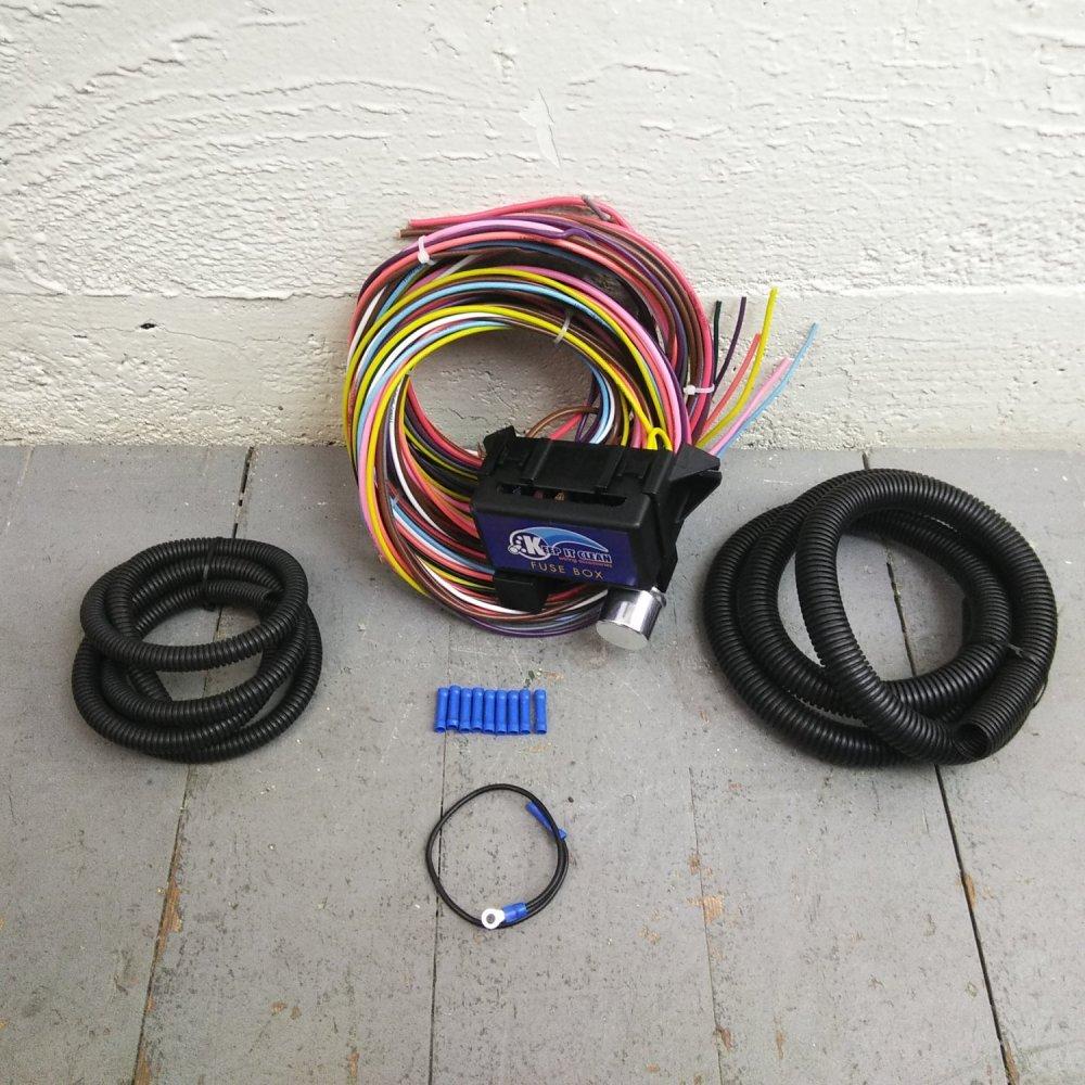 medium resolution of wire harness fuse block upgrade kit for daihatsu hot rod street rod rat rod bar product description c