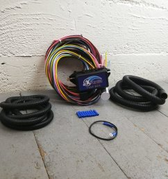 antique car or truck ultra pro wire harness system 12 fuse color wantique car or truck [ 1500 x 1500 Pixel ]