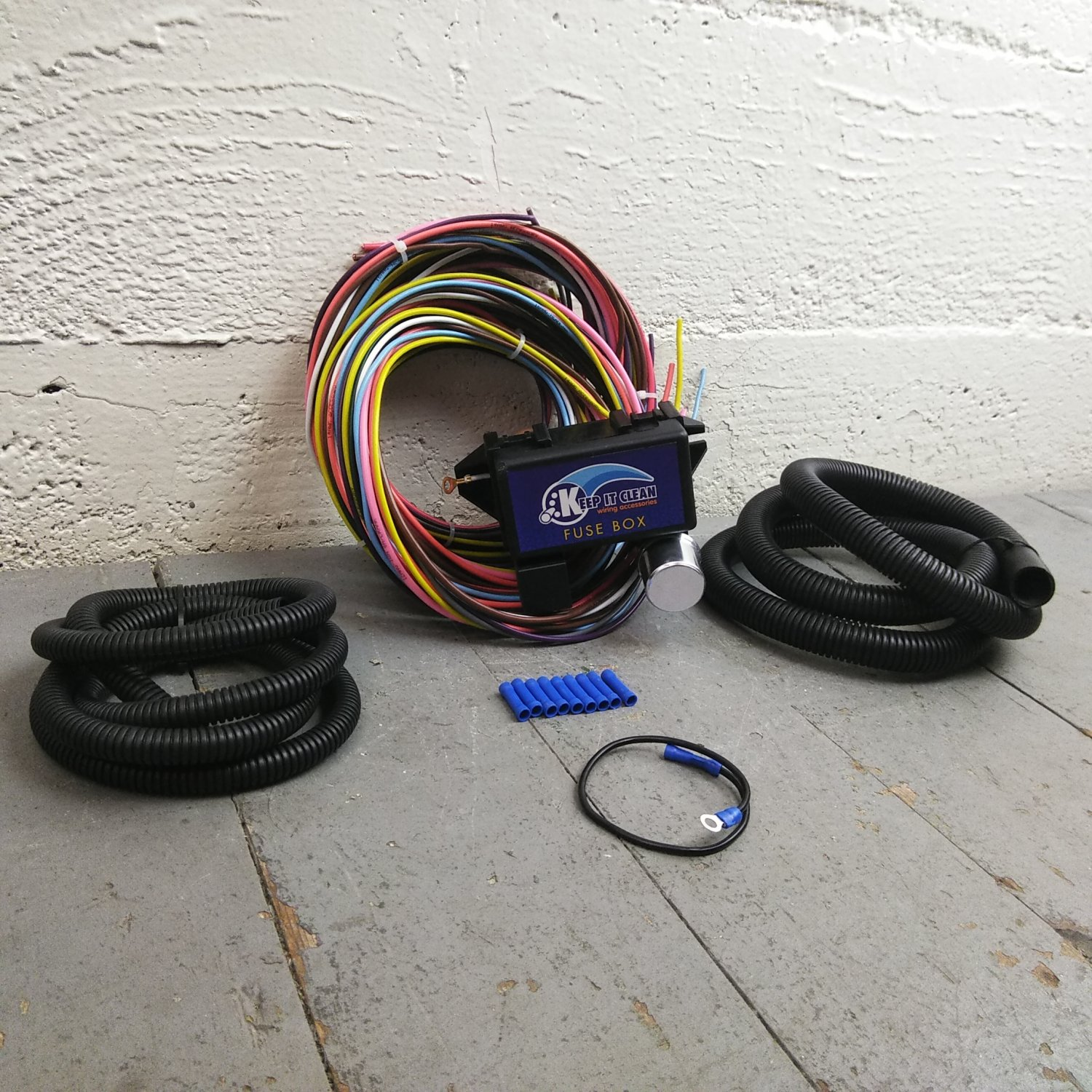 hight resolution of antique car or truck ultra pro wire harness system 12 fuse color wantique car or truck