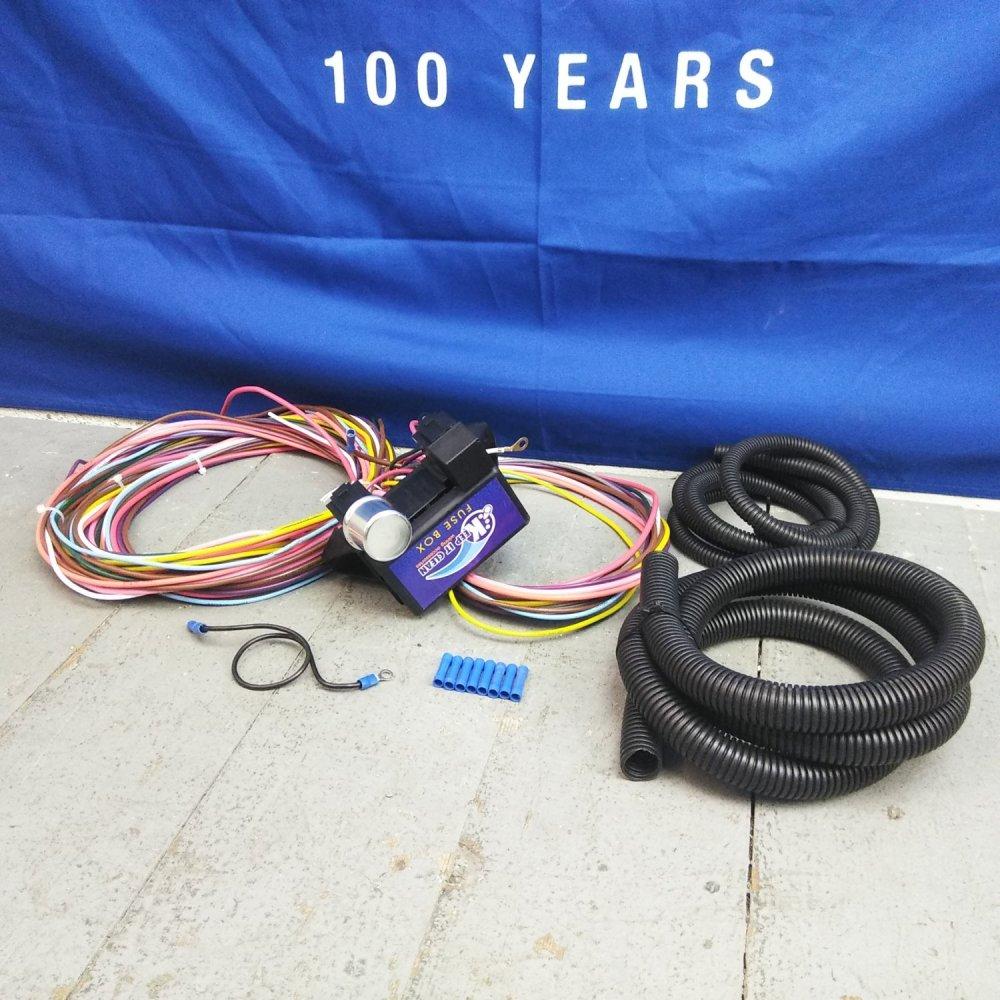 medium resolution of 1928 1931 ford model a wire harness fuse block upgrade kit hot rod street bar product description c