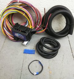 12v 18 circuit 12 fuse universal wiring harness kit 1951 chrysler 1957 pontiac bar product description c [ 1500 x 1500 Pixel ]