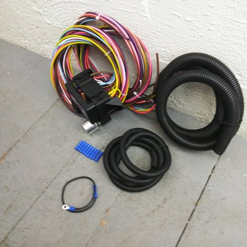 small resolution of 1935 1948 ford 8 circuit wire harness fits painless complete circuit update bar product description c