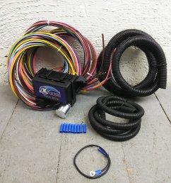 1974 up jeep cj series 8 circuit wire harness fits painless circuit complete bar product description c [ 1500 x 1500 Pixel ]