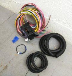 1931 1938 chevrolet 8 circuit wire harness fits painless fuse terminal new bar product description c [ 1500 x 1500 Pixel ]