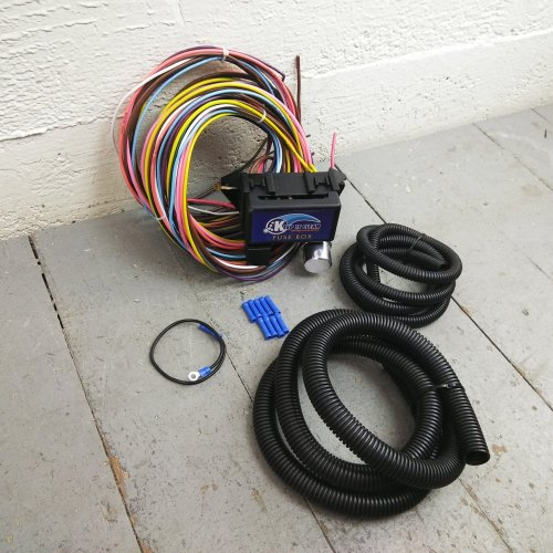 small resolution of 1932 1948 packard 8 circuit wire harness fits painless terminal new compact