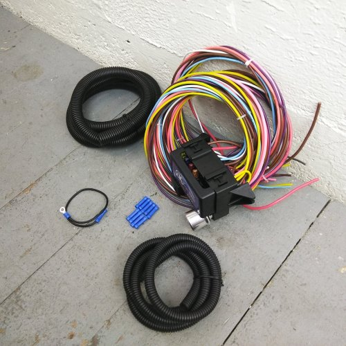 small resolution of 1965 1969 buick riviera gransport 8 circuit wire harness fits painless new