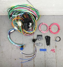 1967 1968 mercury cougar wire harness upgrade kit fits painless mercury cougar pro touring on 68 cougar turn signal switch wiring [ 1500 x 1500 Pixel ]