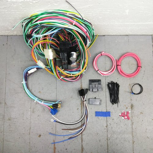 small resolution of 1967 1968 mercury cougar wire harness upgrade kit fits painless mercury cougar pro touring on 68 cougar turn signal switch wiring