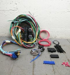 1967 1969 chevrolet camaro wire harness upgrade kit fits painless terminal new bar product description c [ 1500 x 1500 Pixel ]