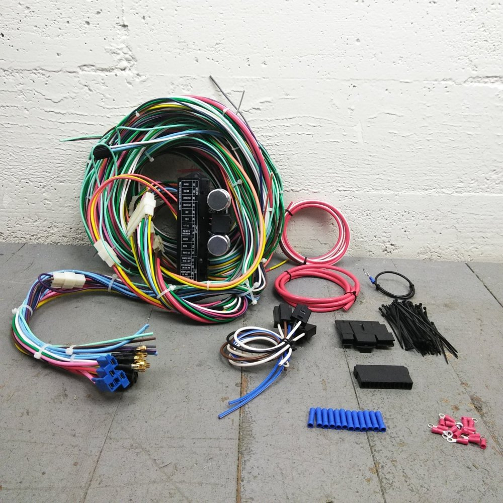 medium resolution of 1967 1969 chevrolet camaro wire harness upgrade kit fits painless terminal new bar product description c