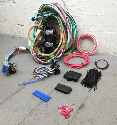 1967 1970 ford mustang wire harness upgrade kit fits painless fuse compact new bar product description c [ 1500 x 1500 Pixel ]