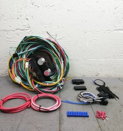 1961 1966 ford truck econoline van wire harness upgrade kit fits painless bar product description c [ 1500 x 1500 Pixel ]