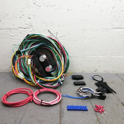 small resolution of 1961 1966 ford truck econoline van wire harness upgrade kit fits painless bar product description c