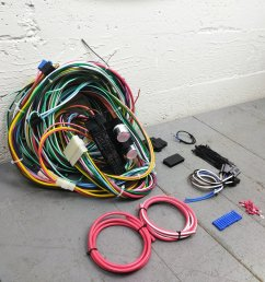 1961 1972 lincoln wire harness upgrade kit fits painless fuse block complete bar product description c [ 1500 x 1500 Pixel ]