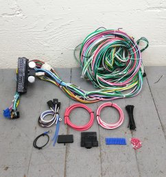 1948 1956 f1 or f100 ford truck wire harness upgrade kit fits painless new kic bar product description c [ 1500 x 1500 Pixel ]