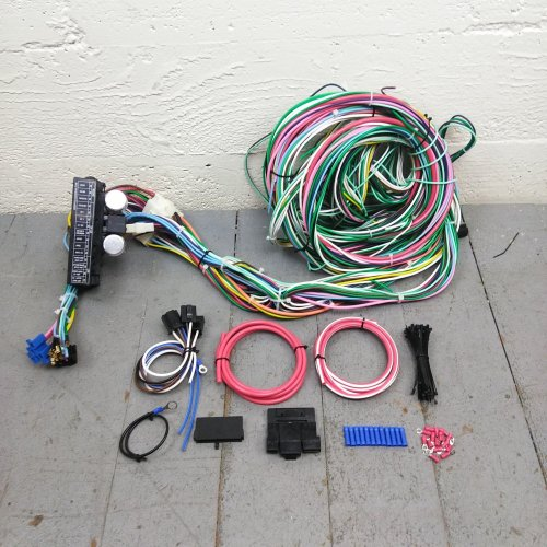 small resolution of 1948 1956 f1 or f100 ford truck wire harness upgrade kit fits painless new kic bar product description c