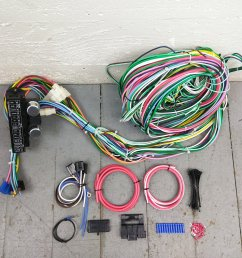 1948 1956 ford truck wire harness upgrade kit fits painless fuse new circuit bar product description c [ 1500 x 1500 Pixel ]