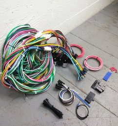 1949 1956 plymouth or chrysler wire harness upgrade kit fits painless terminal bar product description c [ 1500 x 1500 Pixel ]