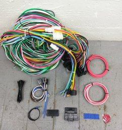 1949 1961 desoto wire harness upgrade kit fits painless compact fuse block kic bar product description c [ 1500 x 1500 Pixel ]
