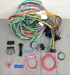 1949 1962 ford car wire harness upgrade kit fits painless new terminal update bar product description c [ 1500 x 1500 Pixel ]
