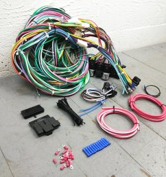 1968 1974 plymouth roadrunner wire harness upgrade kit fits painless complete bar product description c [ 1500 x 1500 Pixel ]
