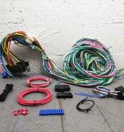 1963 1974 dodge mopar wire harness upgrade kit fits painless new compact fuse bar product description c [ 1500 x 1500 Pixel ]