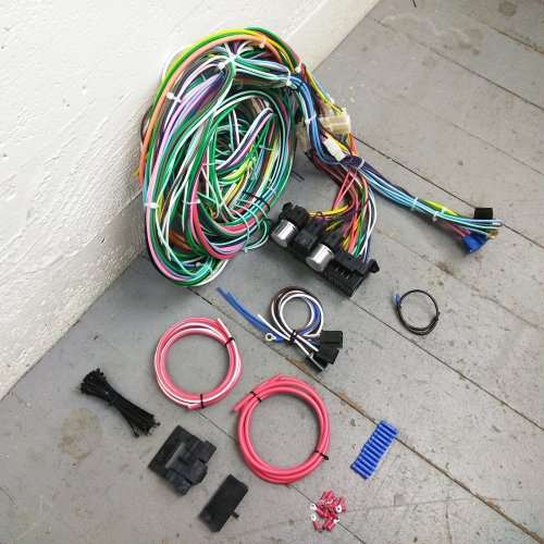 small resolution of 1951 1965 cadillac wire harness upgrade kit fits painless update complete new bar product description c