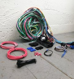 1953 1954 chevrolet bel air wire harness upgrade kit fits painless fuse new v8 bar product description c [ 1500 x 1500 Pixel ]
