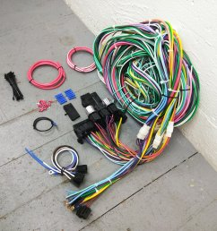 1935 1940 ford rhd wire harness upgrade kit fits painless compact new fuse kic bar product description c [ 1500 x 1500 Pixel ]