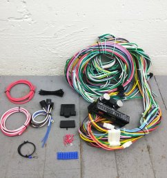 1964 1967 chevy ii nova wire harness upgrade kit fits painless compact update bar product description c [ 1500 x 1500 Pixel ]