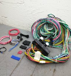 1935 1948 ford wire harness upgrade kit fits painless complete circuit update bar product description c [ 1500 x 1500 Pixel ]