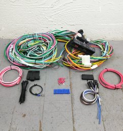 1964 1970 ford mustang wire harness upgrade kit fits painless new terminal kic bar product description c [ 1500 x 1500 Pixel ]