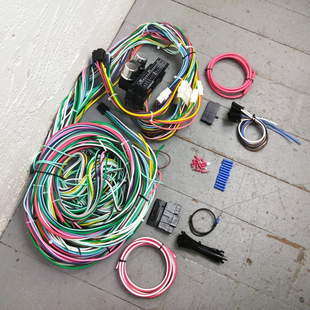 medium resolution of 1974 dodge wiring wiring library1970 1974 dodge challenger wire harness upgrade kit fits painless complete new