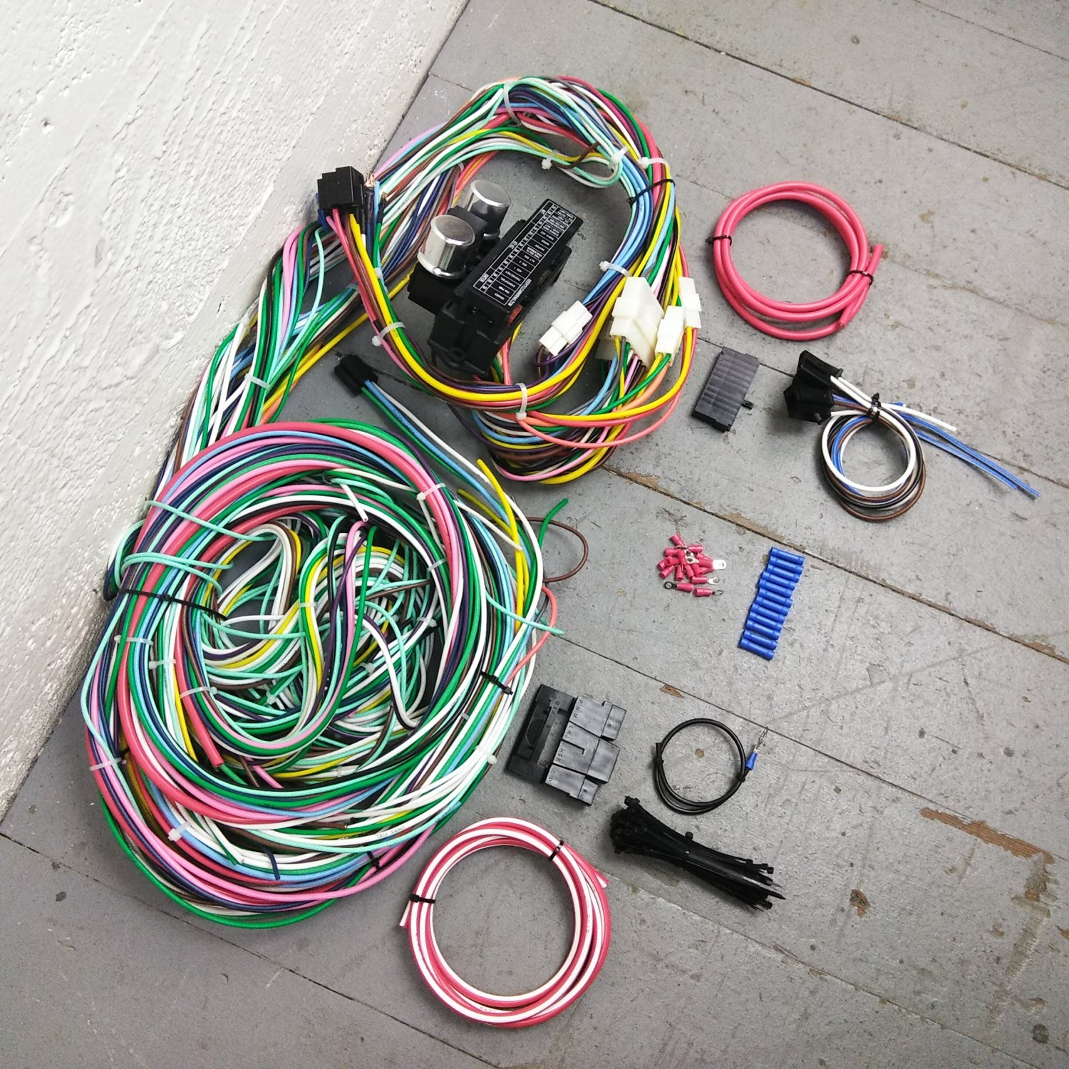 hight resolution of 1974 dodge wiring wiring library1970 1974 dodge challenger wire harness upgrade kit fits painless complete new