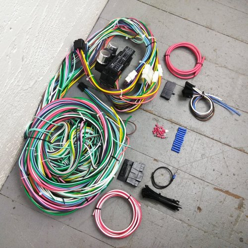 small resolution of 1974 dodge wiring wiring library1970 1974 dodge challenger wire harness upgrade kit fits painless complete new