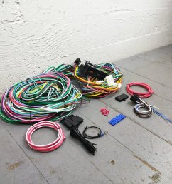1973 1979 ford truck 78 1979 bronco wire harness upgrade kit fits painless bar product description c [ 1500 x 1500 Pixel ]