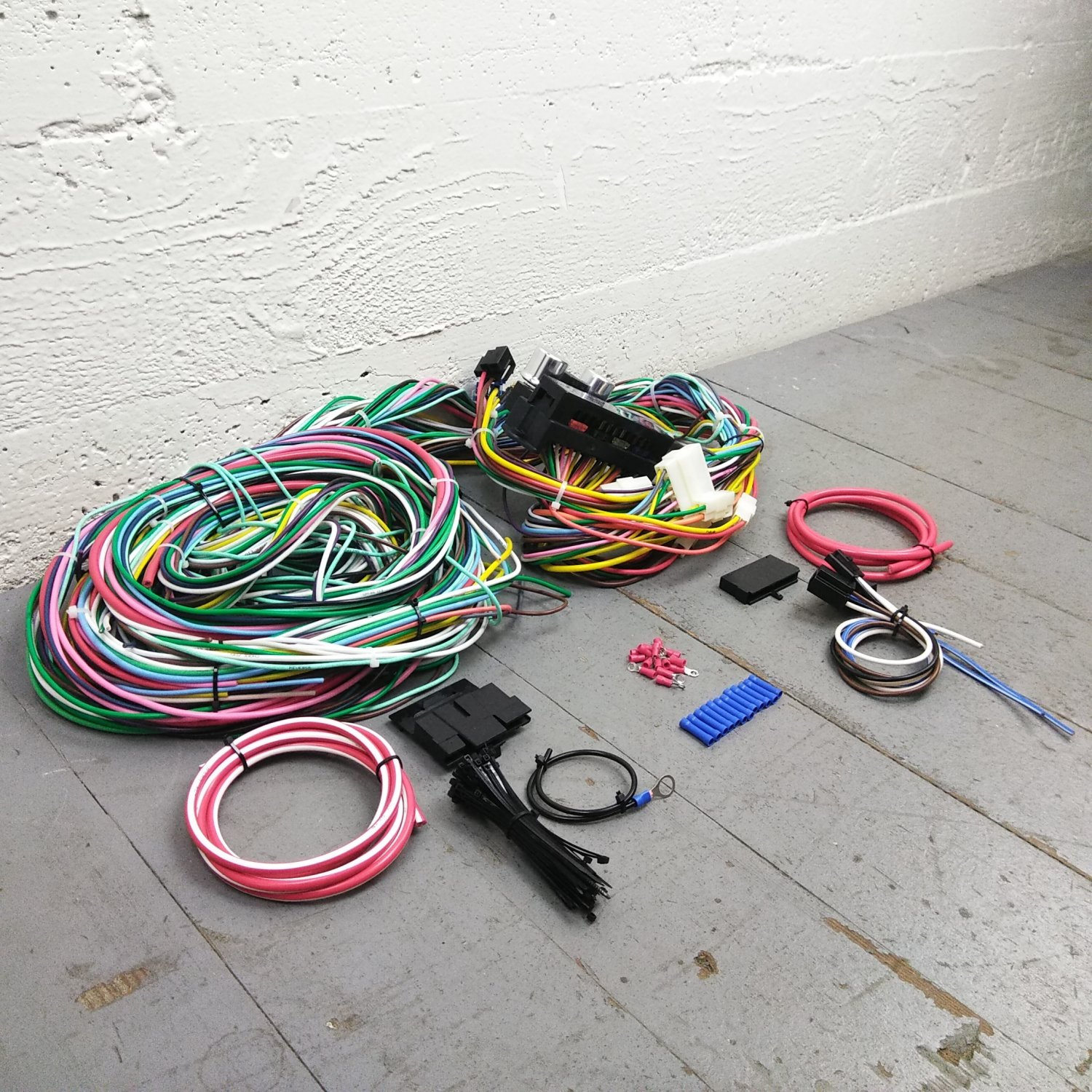 hight resolution of 1973 1979 ford truck 78 1979 bronco wire harness upgrade kit fits painless bar product description c