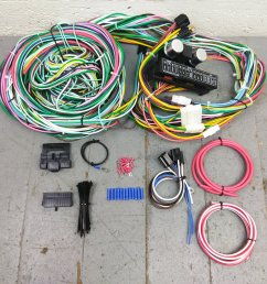 1955 1957 chevy bel air wire harness upgrade kit fits painless fuse block new bar product description c [ 1500 x 1500 Pixel ]