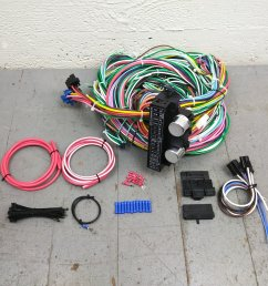 1955 1959 chevy truck wire harness upgrade kit fits painless complete terminal bar product description c [ 1500 x 1500 Pixel ]
