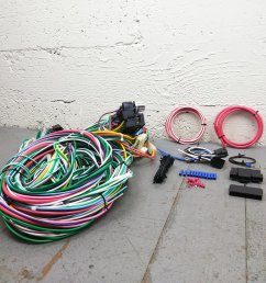 1948 1952 ford f 150 series truck wire harness upgrade kit fits painless new bar product description c [ 1500 x 1500 Pixel ]