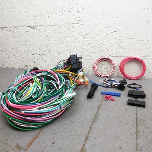 small resolution of 1948 1952 ford f 150 series truck wire harness upgrade kit fits painless new bar product description c