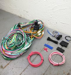 1960 1965 ford falcon wire harness upgrade kit fits painless fuse rh ebay com ford wiring [ 1500 x 1500 Pixel ]