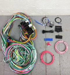 1960 1966 chevy or gmc truck wire harness upgrade kit fits painless circuit bar product description c [ 1500 x 1500 Pixel ]