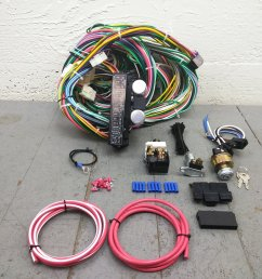 1974 and up jeep cj6 cj7 main performance wire harness system 24 circuit 15 fuse bar product description c [ 1500 x 1500 Pixel ]