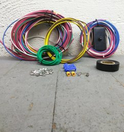 dune buggy universal wiring harness w fuse box fits empi 9466 vw universal wire harness w [ 1500 x 1500 Pixel ]