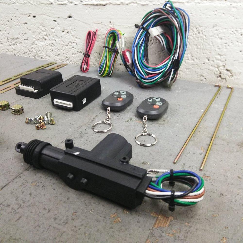 medium resolution of 1931 1950 chevy central entry power door lock kit remote keyless conversion