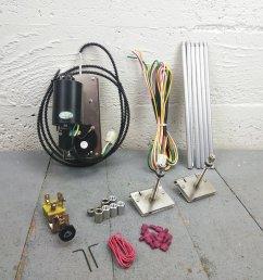universal power wiper kit street rod hot rod classic truck wiring 3 speed motor bar product description c [ 1500 x 1500 Pixel ]