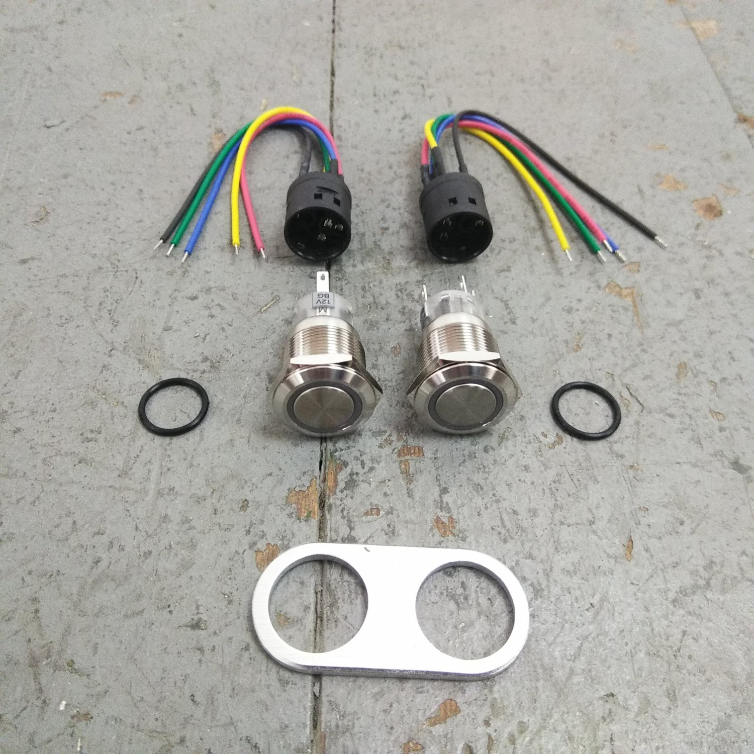 hight resolution of 1948 56 f1 f100 ford truck power window kit cut to fit bolt in wiring harness bar product description c